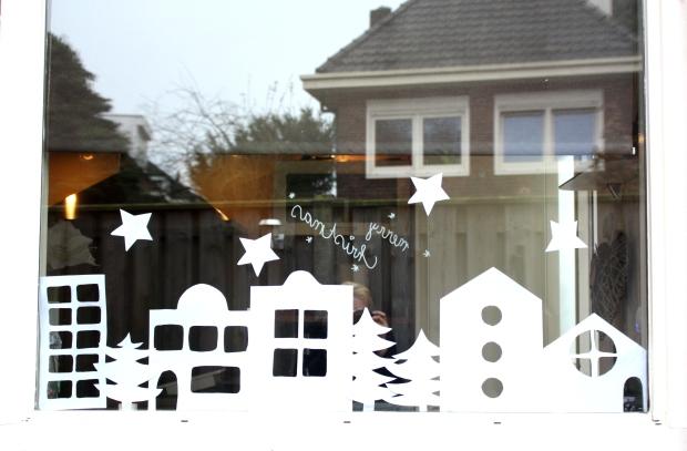 dekentje linus en kersthuisjes 031