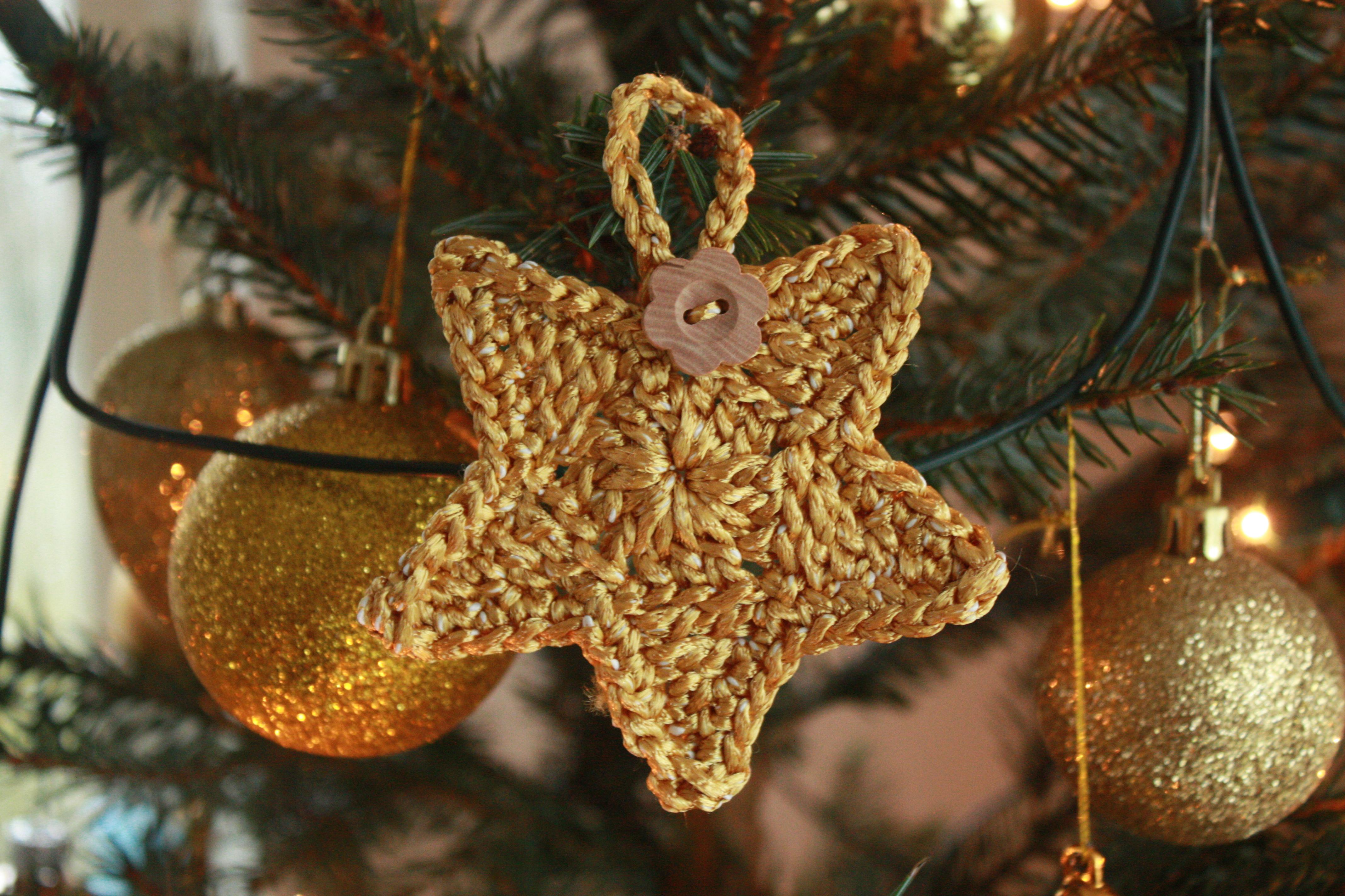 Kerstster Haken