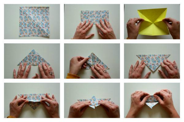 DIY vlinder vouwen blog goede foto 1